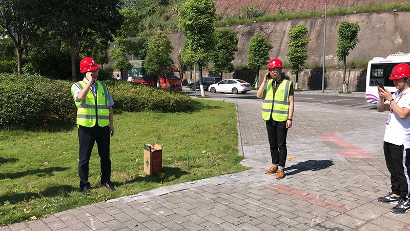 2018年6月27日,星网通信工程团队参与重庆联通2018年度安全演练活动。