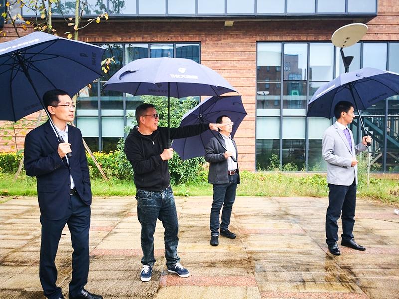 伍川董事长介绍装配式建筑工程建设情况
