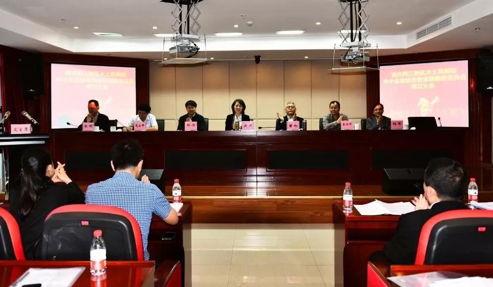 两江新区水土高新园中小企业协会成立 重庆群峰科技公司当选副会长